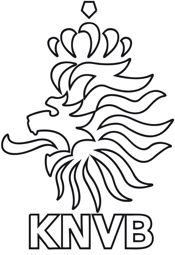 Coloriage des logos des equipes de football mondial 2014
