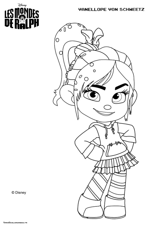 coloring page Wreck-It Ralph