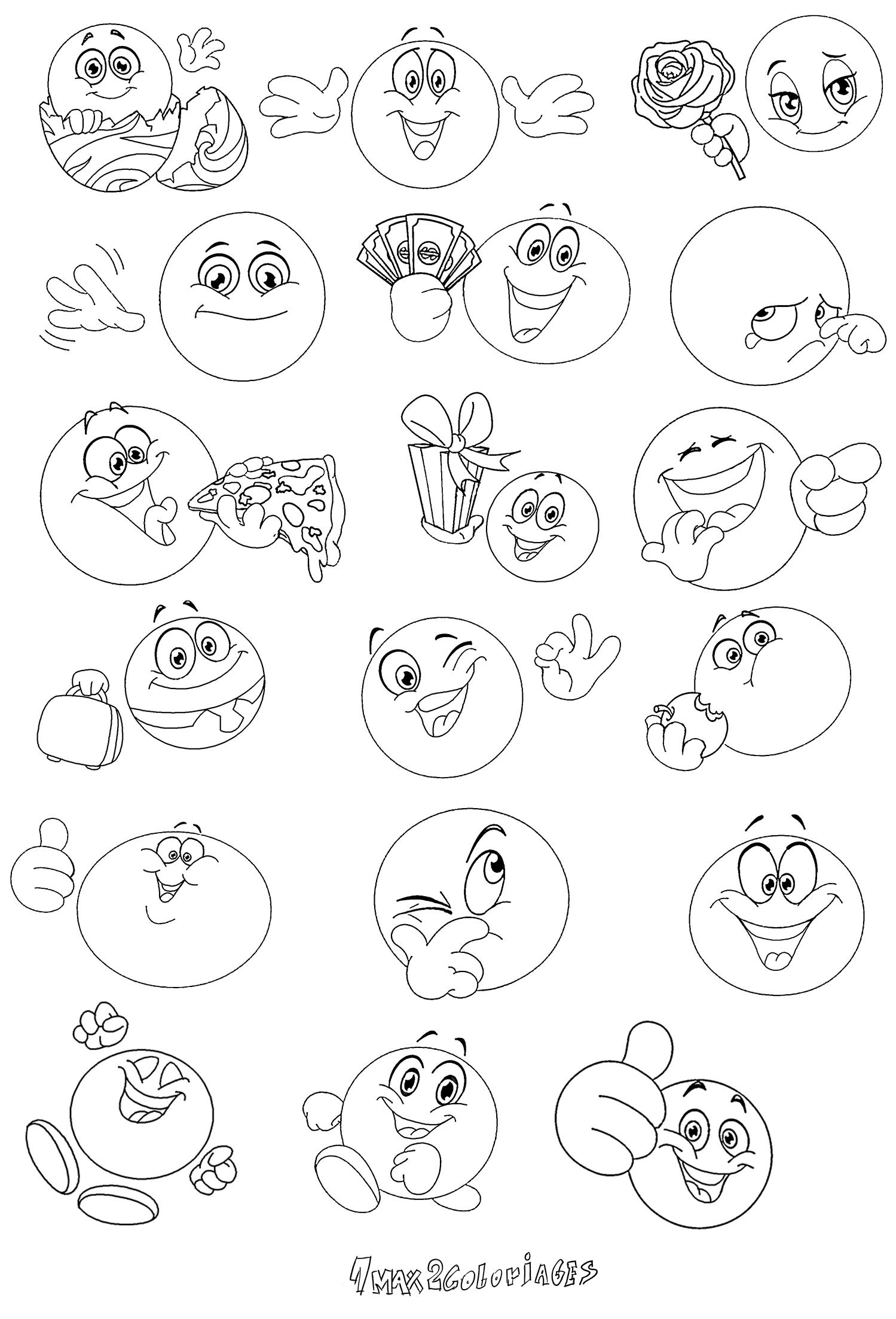 15 coloriage de smiley a imprimer gratuit haut coloriage hd images et imprimable gratuit - Image de smiley a imprimer ...