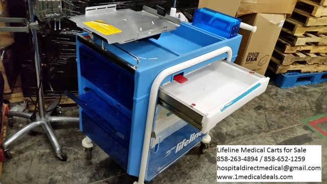 Lifeline medical carts for sale