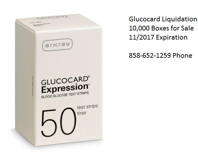 ARKRAY GLUCOCARD EXPRESSION BLOOD GLUCOSE TEST STRIPS 50 PACK