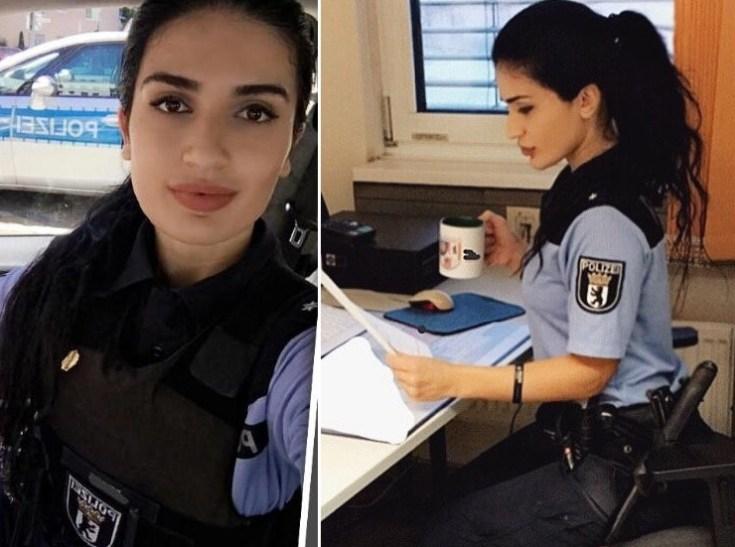 Красавица-азербайджанка стала комиссаром полиции в Берлине – ФОТО