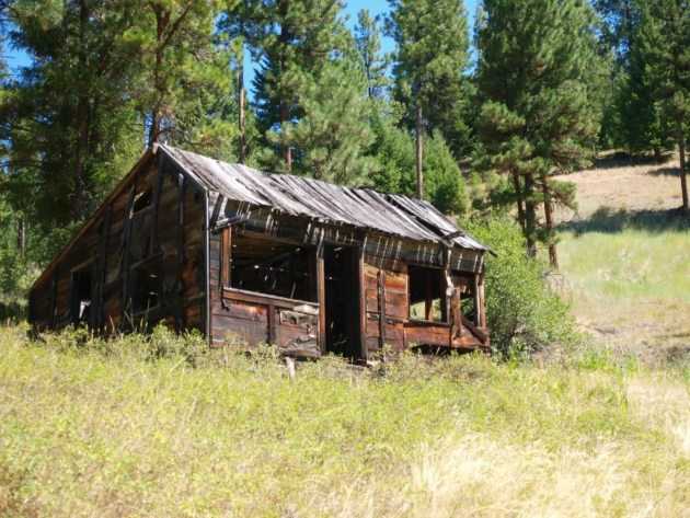 Ghost Town of Susanville Oregon