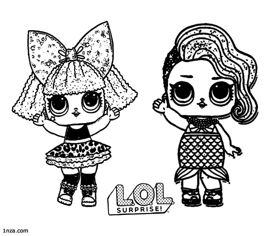 22 Free Printable Lol Surprise Coloring Pages
