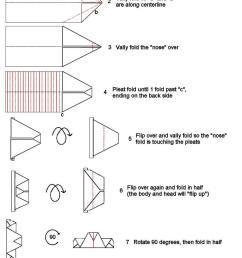3d origami fox diagram [ 730 x 1295 Pixel ]