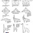 Origami giraffe instructions