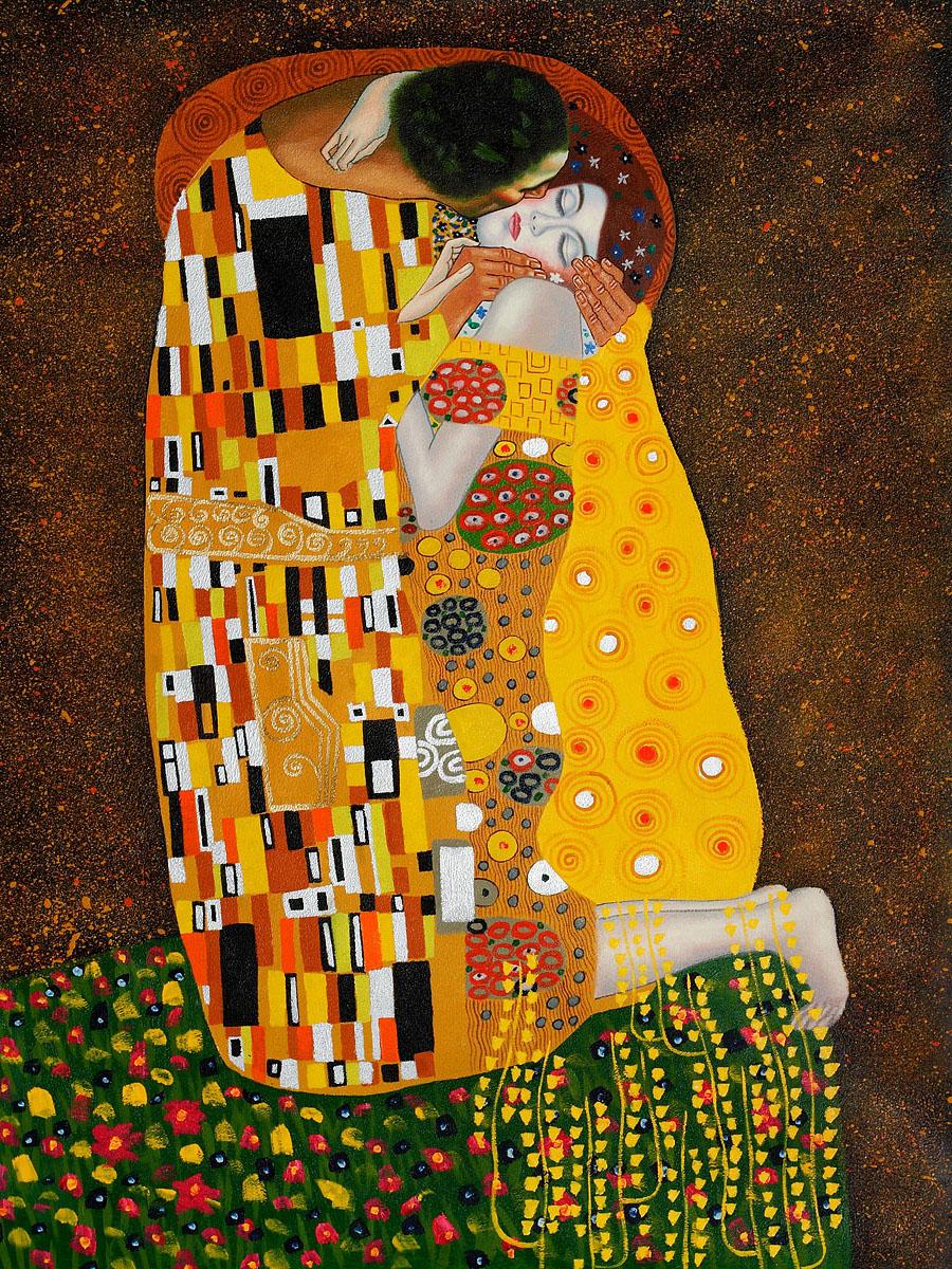 The Kiss Gustav Klimt's paintings for sale on 1paintings.com