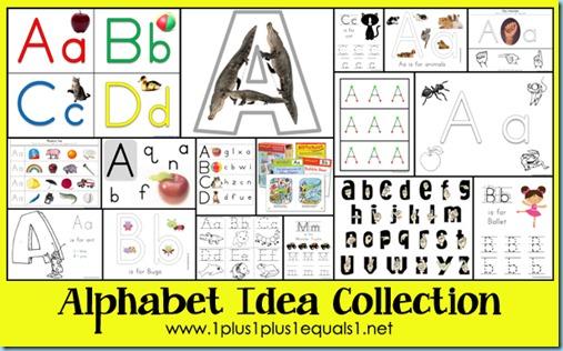 Alphabet Ideas