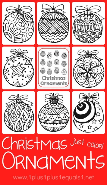 Mini Christmas Ornaments Coloring Pages Eufpdm Happynewyear2020online Info