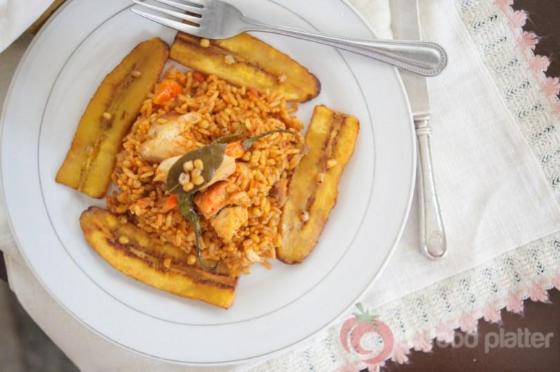 whole wheat jollof rice