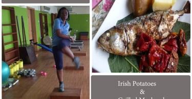 potato and mackerel