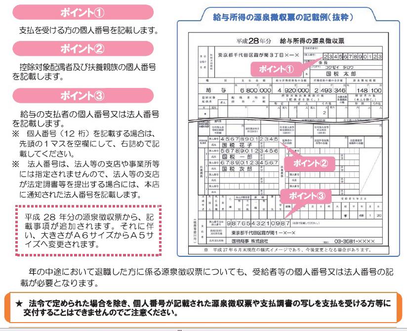 やっときた!「源泉徴収票」の確定版が公開 国税庁マイナンバー関連情報