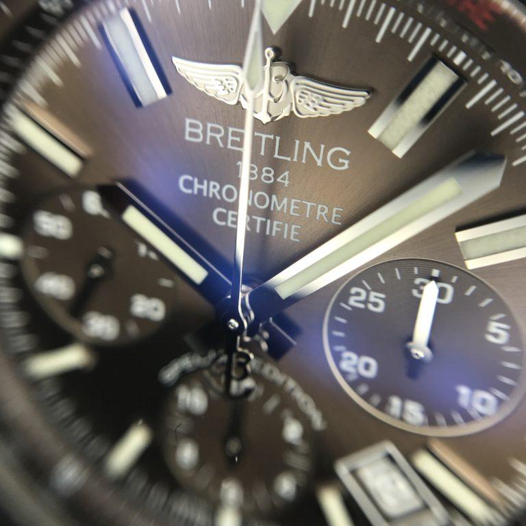 ブライトリングの腕時計 クロノマットJSP ブラウン文字盤