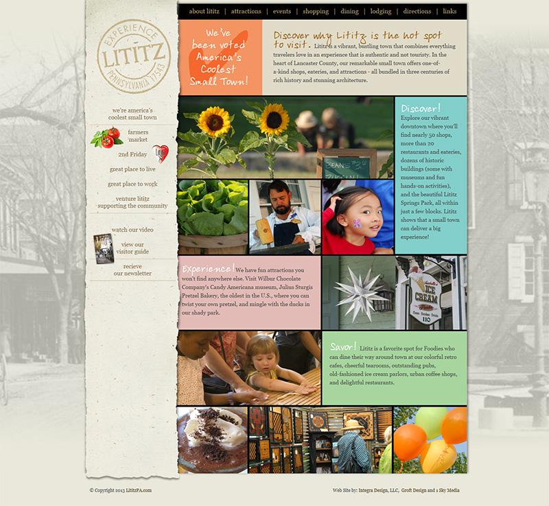 Community Website Design Lancaster Pa