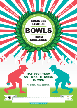Bowls South Africa - Toolkit Poster - Business League