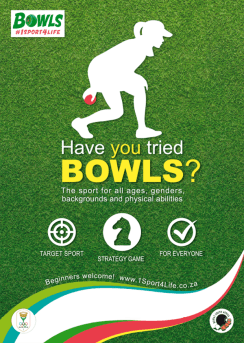 Bowls South Africa - Toolkit Poster - Have You Tried Bowls