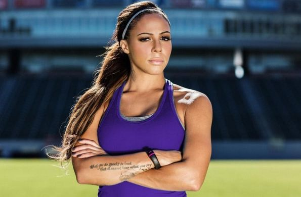 Sexy female soccer players