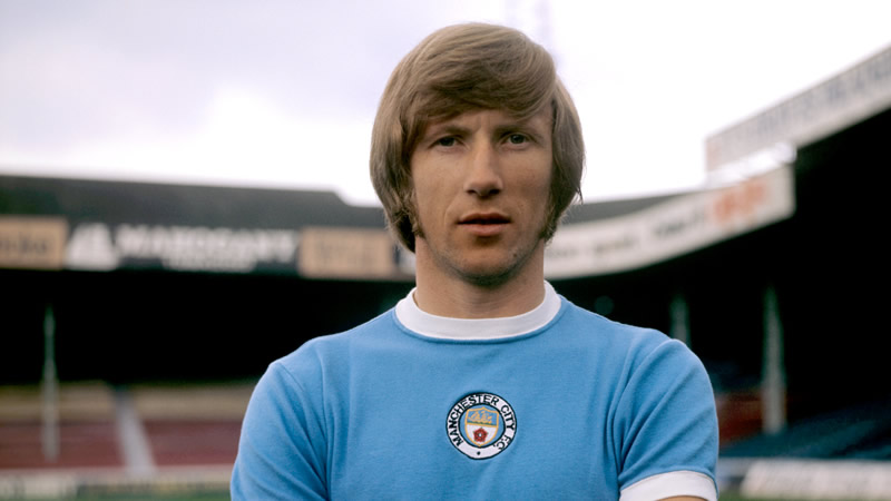 Manchester City Legends : Colin Bell