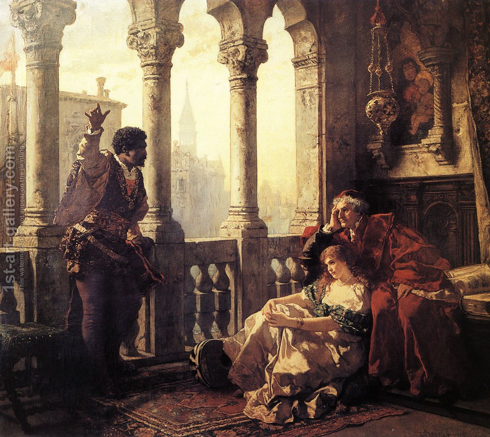 Othello Relating Adventures Desdemona Carl Ludwig