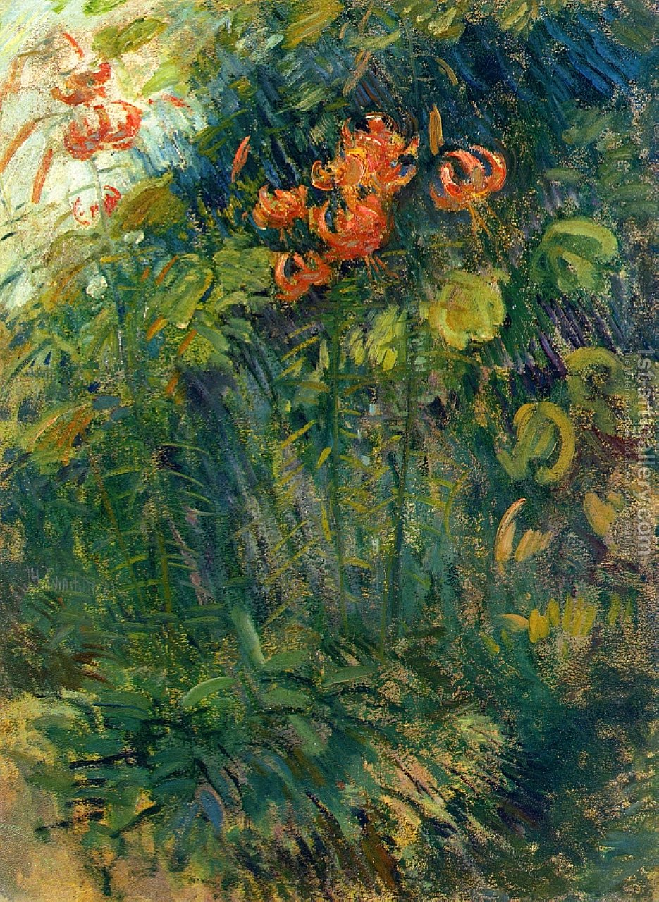 Flowers 2 John Henry Twachtman Reproduction 1st Art