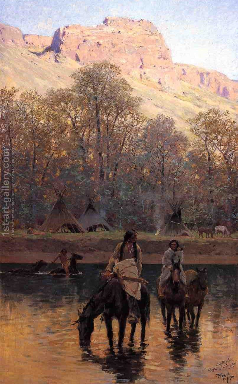 Days Of Long - Henry Farny Oil Painting Reproductions