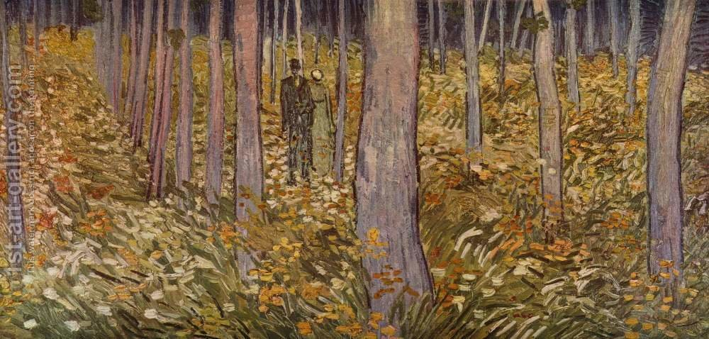 Complex and surprising effects of. Couple Walking In Forest For Sale 1st Art Gallery