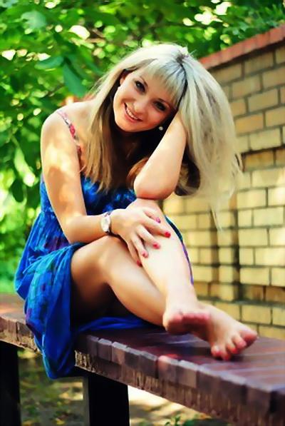 tender russian woman