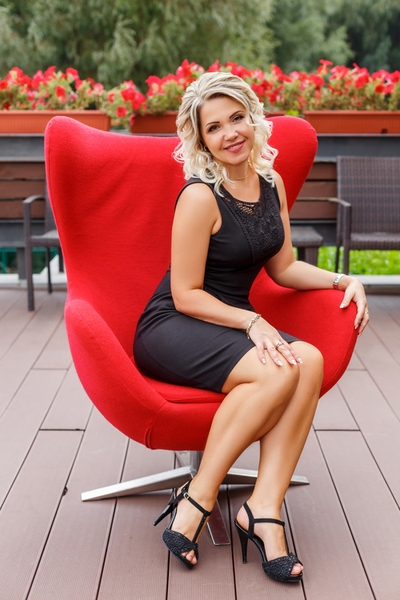 blond Ukrainian womanhood from city Chernihiv Ukraine