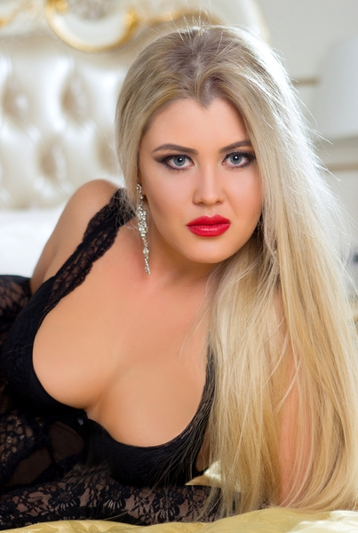 blond Ukrainian bride from city Odessa Ukraine
