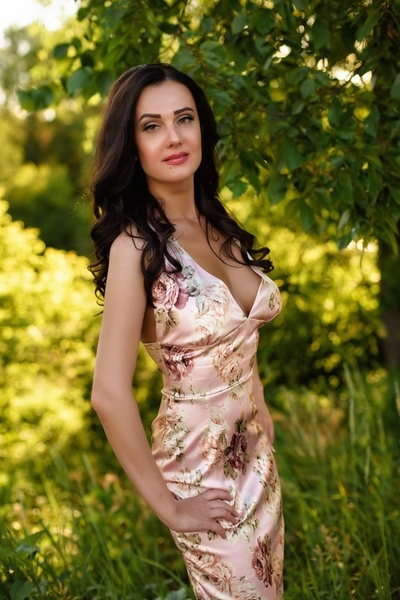 bright Ukrainian womankind from city Kharkov Ukraine
