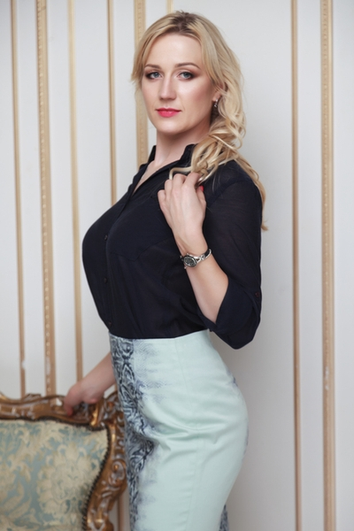 communicative Ukrainian lady from city Lviv Ukraine