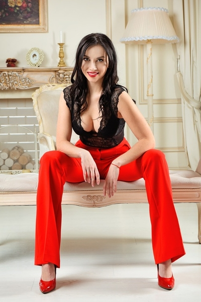 exquisite Ukrainian womankind from city Kiev Ukraine