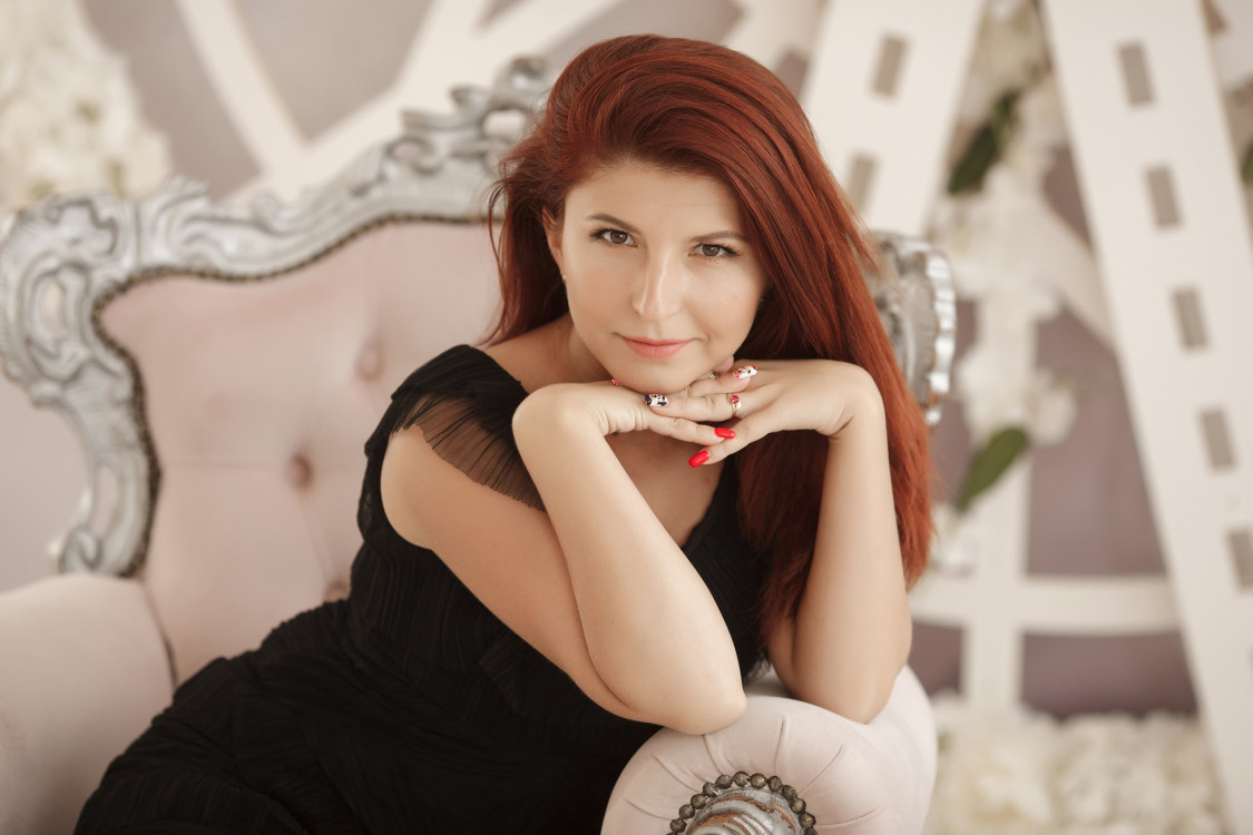 joyful Ukrainian girl from city Kharkiv Ukraine