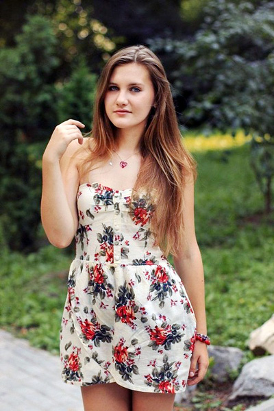 modest Ukrainian marriageable girl from city Sumy Ukraine