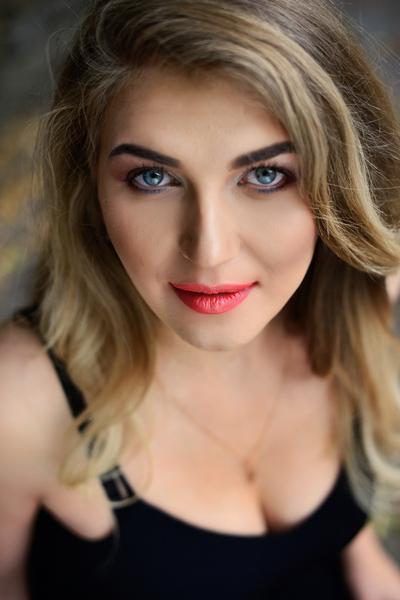 positive Ukrainian marriageable girl from city Rivne Ukraine