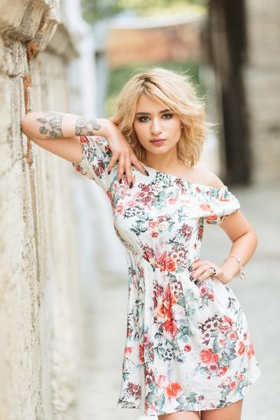 radiant Ukrainian woman from city Nikolayev Ukraine