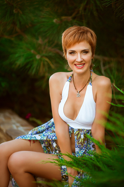 sunny Ukrainian bride from city Mariupol Ukraine