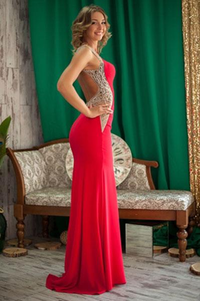 tall and slim Ukrainian marriageable girl from city Cherkassy Ukraine