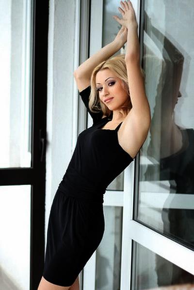 blonde russian bride