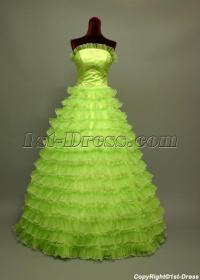 2011 Cute Puffy Green Quinceanera Dresses img_6739:1st ...