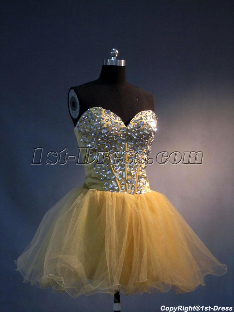 Gold Jeweled Super Sweet 16 Dresses IMG34631st Dresscom