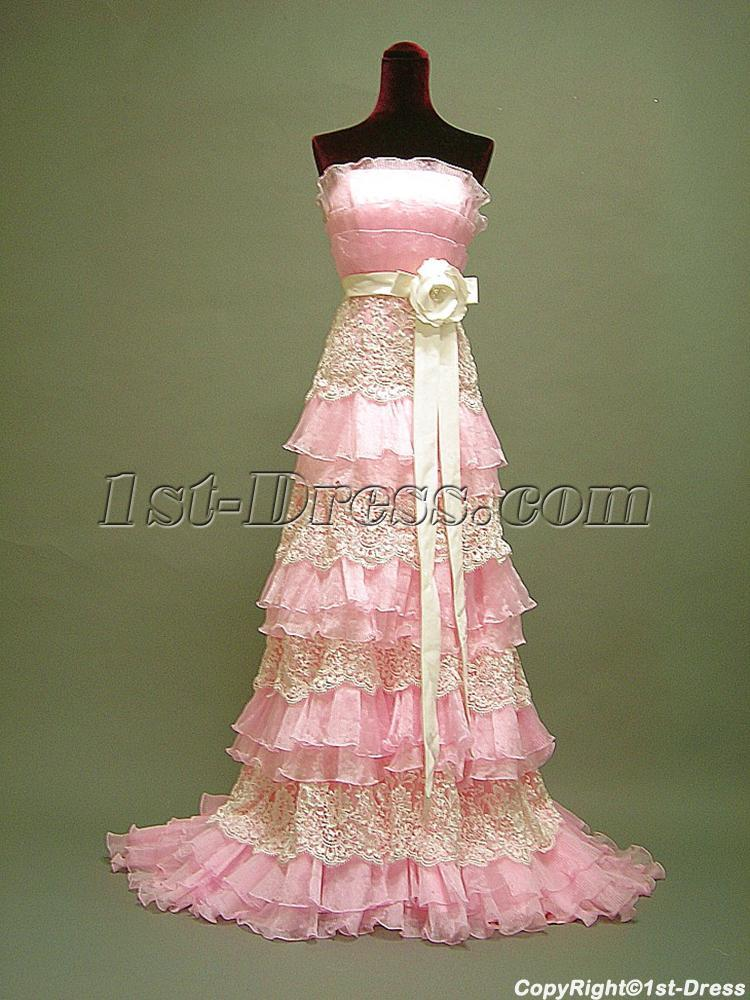 Pink Tradition Masquerade Ball Gown 30571stdresscom