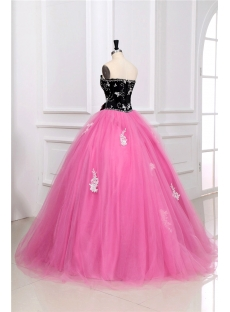 Colorful Unique Masquerade Ball Gown Dress1stdresscom