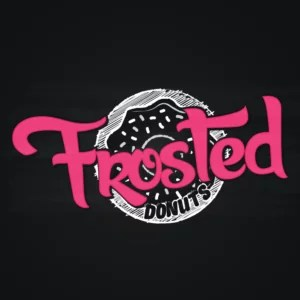 Frosted Donut Logo