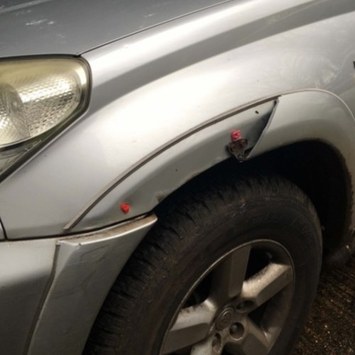 small resolution of  toyota rav 4 wing arch trim