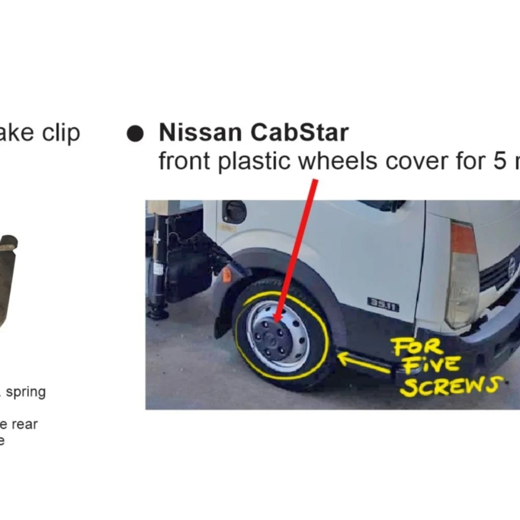hight resolution of nissan cabstar wheel
