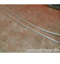 vauxhall astra roof rails silver z176  [ 1024 x 1024 Pixel ]
