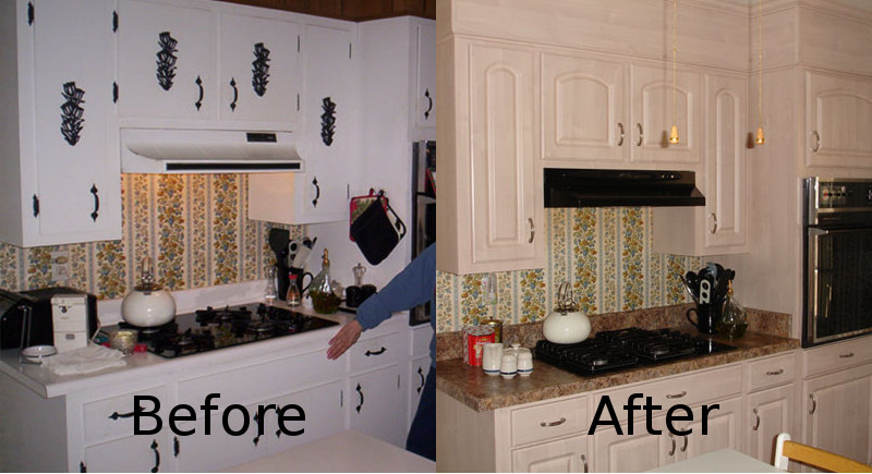 kitchen cabinet refinishing rustic island refacing pensacola | restoration