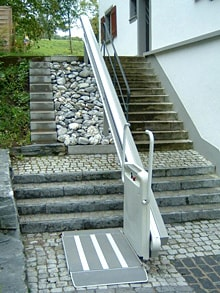 1st Choice Stairlifts  Incline Wheelchair Platform