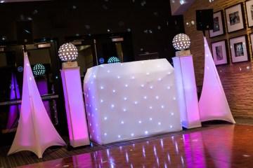 White Disco Setup
